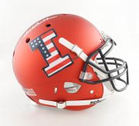 Dick Butkus Signed Illinois Fighting Illini Full-Size Authentic On-Field Helmet (Beckett COA) at PristineAuction.com