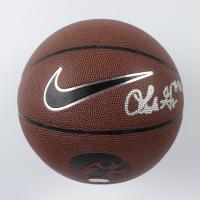 Luka Garza Signed Iowa Hawkeyes Logo Basketball (JSA COA) at PristineAuction.com