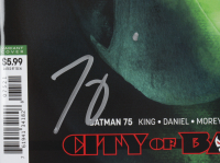 """Tom King Signed 2020 """"Batman City Of Bane"""" Issue #75 DC Comic Book (Midtown Comics COA) at PristineAuction.com"""
