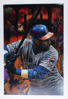 """Stephen Holland Signed Sammy Sosa 23x33 Lithograph Inscribed """"Proof"""" (See Description) at PristineAuction.com"""