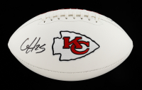 Clyde Edwards-Helaire Signed Chiefs Logo Football (Beckett COA) (See Description) at PristineAuction.com