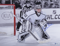 Jonathan Quick Signed Kings 11x14 Photo (Beckett Hologram) at PristineAuction.com