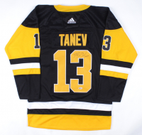 Brandon Tanev Signed Penguins Jersey (Beckett COA) at PristineAuction.com