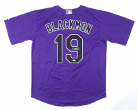 Charlie Blackmon Signed Rockies Jersey (Beckett COA) at PristineAuction.com