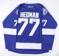 Victor Hedman Signed Lightning Jersey (JSA COA) at PristineAuction.com