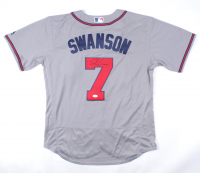 Dansby Swanson Signed Braves Jersey (JSA COA) at PristineAuction.com