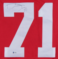 Dylan Larkin Signed Red Wings Jersey (Beckett COA) at PristineAuction.com