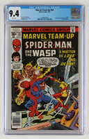 """1977 """"Marvel Team-Up"""" Issue #60 Marvel Comic Book (CGC 9.4) at PristineAuction.com"""