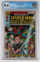 """1978 """"Marvel Team-Up"""" Issue #74 Marvel Comic Book (CGC 9.4) at PristineAuction.com"""