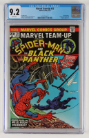 """1974 """"Marvel Team-Up"""" Issue #20 Marvel Comic Book (CGC 9.2) at PristineAuction.com"""