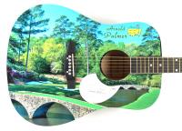 "Arnold Palmer Signed 41"" Acoustic Guitar (PSA COA) (See Description) at PristineAuction.com"