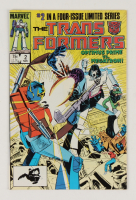 """1984 """"Transformers"""" Issue #2 Marvel Comic Book at PristineAuction.com"""