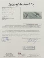 Jack Nicklaus & Arnold Palmer Signed PNC Father Son Challenge Pin Flag (JSA LOA) at PristineAuction.com