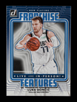 Luka Doncic 2020-21 Donruss Franchise Features #7 at PristineAuction.com