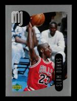 Michael Jordan 1998 Upper Deck MJ Sticker Collection #91 at PristineAuction.com