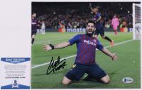 Luis Suarez Signed FC Barcelona 8x10 Photo (Beckett COA) at PristineAuction.com