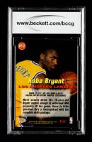 Kobe Bryant 1996-97 Stadium Club Rookies 1 #R12 (BCCG 10) at PristineAuction.com