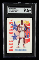 Michael Jordan 1991-92 SkyBox #534 USA (SGC 9.5) at PristineAuction.com