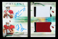 Kyler Murray / Andy Isabella 2019 Panini Origins Rookie Stars Dual Patch Signatures Booklet #1 #14/25 at PristineAuction.com