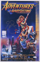 """Elisabeth Shue Signed """"Adventures in Babysitting"""" 11x17 Movie Poster Print (Beckett COA) at PristineAuction.com"""
