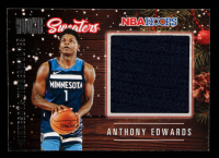 Anthony Edwards 2020-21 Hoops Rookie Sweaters #RSWAED at PristineAuction.com