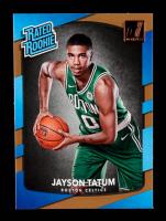 Jayson Tatum 2017-18 Donruss #198 RR RC at PristineAuction.com