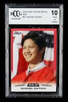Shohei Ohtani 2018 Leaf Ohtani Retail Red #01 (BCCG 10) at PristineAuction.com