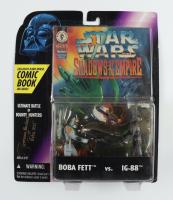 "Jeremy Bulloch Signed ""Star Wars: Shadows of The Empire"" Bobba Fett vs. IG-88 Action Figures Inscribed ""Boba Fett"" (Beckett COA) at PristineAuction.com"