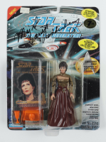 "Majel Barrett-Roddenberry Signed ""Star Trek: The Next Generation"" Lwaxana Troi Action Figure (Beckett COA) at PristineAuction.com"
