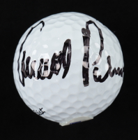 Arnold Palmer Signed Golf Ball with Display Case (PSA COA) at PristineAuction.com
