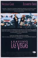 "Elisabeth Shue Signed ""Leaving Las Vegas"" 11x17 Movie Poster Print (Beckett COA) at PristineAuction.com"