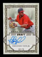 Fernando Tatis Jr. 2020 Leaf Ultimate Draft Gold #BAFT1 #62/75 at PristineAuction.com