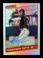 Fernando Tatis Jr. 2020 Donruss Optic Highlights Signatures #18 at PristineAuction.com