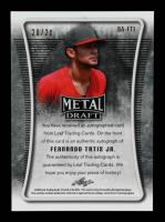 Fernando Tatis Jr. 2020 Leaf Metal Draft Pink #BAFT1 #20/20 at PristineAuction.com