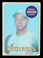 Reggie Jackson 1969 Topps #260 RC at PristineAuction.com