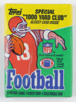 1986 Topps Pro Football Card Wax Pack with (18) Cards at PristineAuction.com