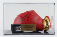 Mike Tyson Signed Everlast BoxingGlove With Display Case (PSA COA) at PristineAuction.com