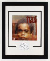 "Nas Signed ""Illmatic"" 18.5x22.5 Custom Framed Cut Display (ACOA COA) (See Description) at PristineAuction.com"