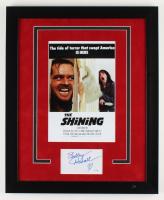 "Shelley Duvall Signed ""The Shining"" 18.5x22.5 Custom Framed Cut Display (ACOA COA) (See Description) at PristineAuction.com"