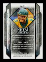 Trey Lance 2021 Leaf Metal Draft Portraits Blue #PATL2 #25/30 at PristineAuction.com