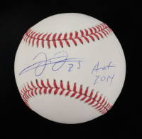 "Frank Thomas Signed OML Baseball Inscribed ""HOF 2014"" (Beckett COA) at PristineAuction.com"