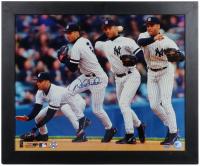 Derek Jeter Signed Yankees 19x23 Framed Photo Display (Steiner COA & MLB Hologram) at PristineAuction.com