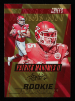 Patrick Mahomes II 2017 Absolute Rookie Roundup #20 RC at PristineAuction.com