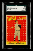 Mickey Mantle 1958 Topps #487 AS TP (SGC 4) at PristineAuction.com