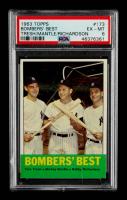 Tom Tresh / Mickey Mantle / Bobby Richardson 1963 Topps #173 Bomber's Best (PSA 6) at PristineAuction.com