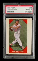 Ted Williams 1960 Fleer #72 (PSA 8) at PristineAuction.com