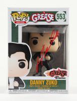 "John Travolta Signed ""Grease"" #553 Danny Zuko Funko Pop! Vinyl Figure (Beckett COA) at PristineAuction.com"