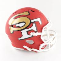 Frank Gore Signed 49ers Full-Size AMP Alternate Speed Helmet (JSA COA) at PristineAuction.com