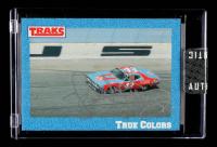 Richard Petty Signed 1991 Traks #16 Richard Petty's Car (Sportscard.com Encapsulated) at PristineAuction.com