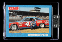 Richard Petty Signed 1991 #21 Richard Petty w/Car (Sportscard.com Encapsulated) at PristineAuction.com